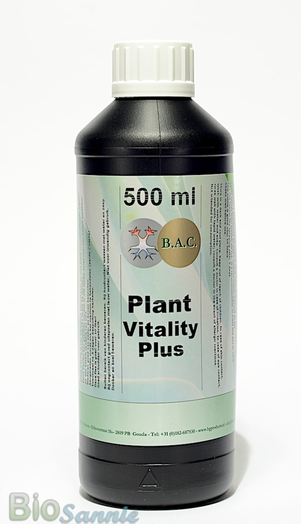 Bac plant vitality plus against spidermites and thrips