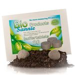 buffertablets supplies your soil with all the needed nutrients, slow release of organics and buffering the soil